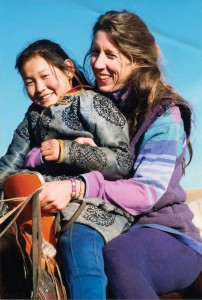 Liza F. Carter '79, author of  Moving with the Seasons: Portrait of a Mongolian Family (Saltwind Press, 2014)