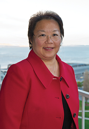 Daphne Kwok '84 Chair, Wesleyan Alumni Association