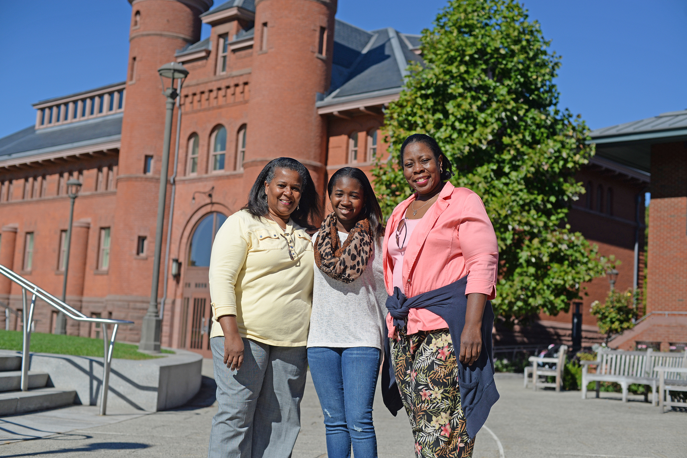 Family Weekend 2014 at Wesleyan University. (Photo by Olivia Drake)