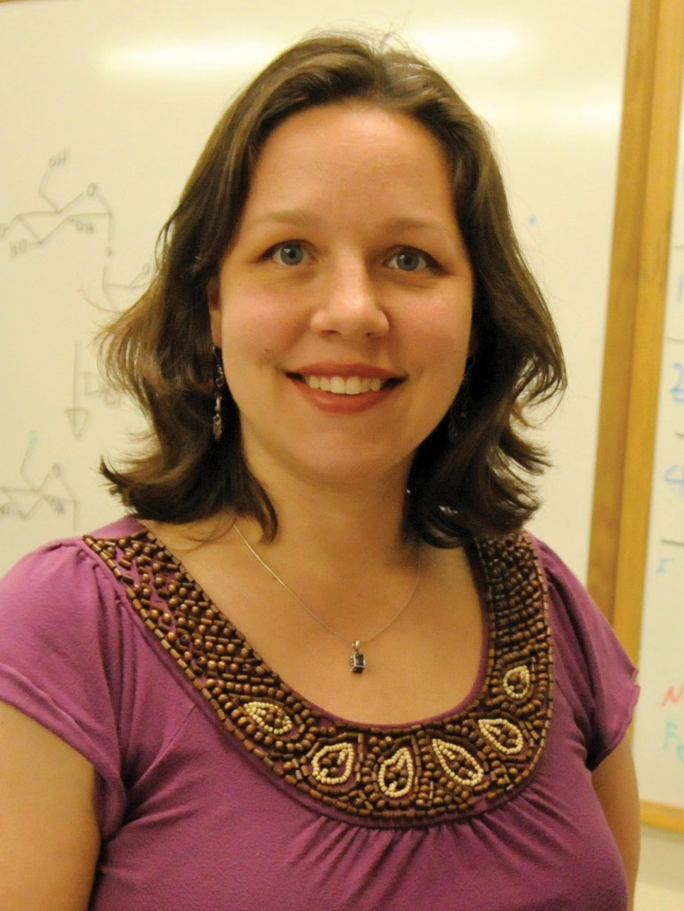 Erika Taylor, assistant professor of chemistry and of environmental studies, recently received a $492,000 grant from NIH to pursue research related to food-borne pathogens.