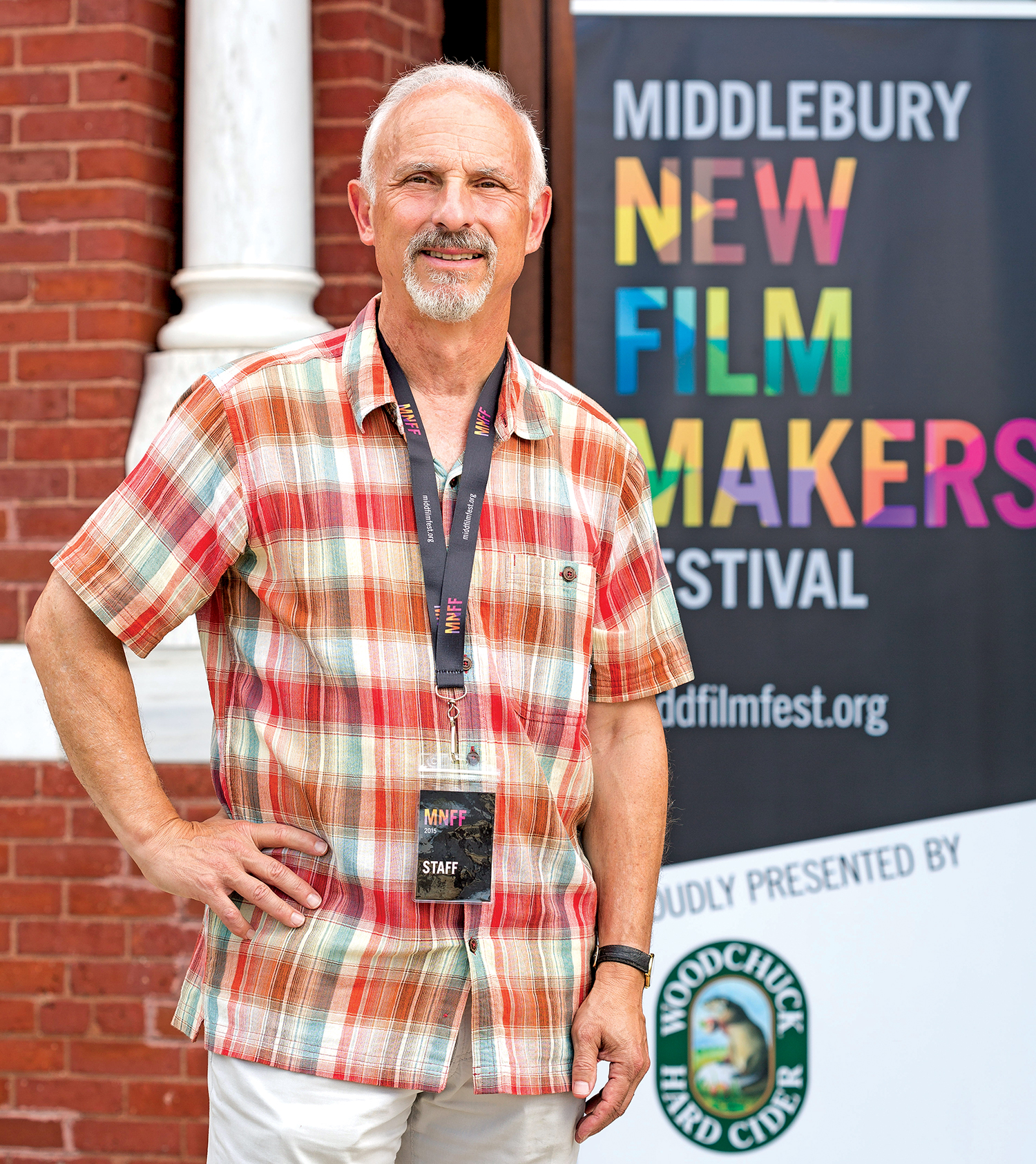 Lloyd Komesar '74 created a new film festival for first- or second-time filmmakers and attracted a strong contingent of Wesleyan alumni as participants. Photo: Oliver Parini.