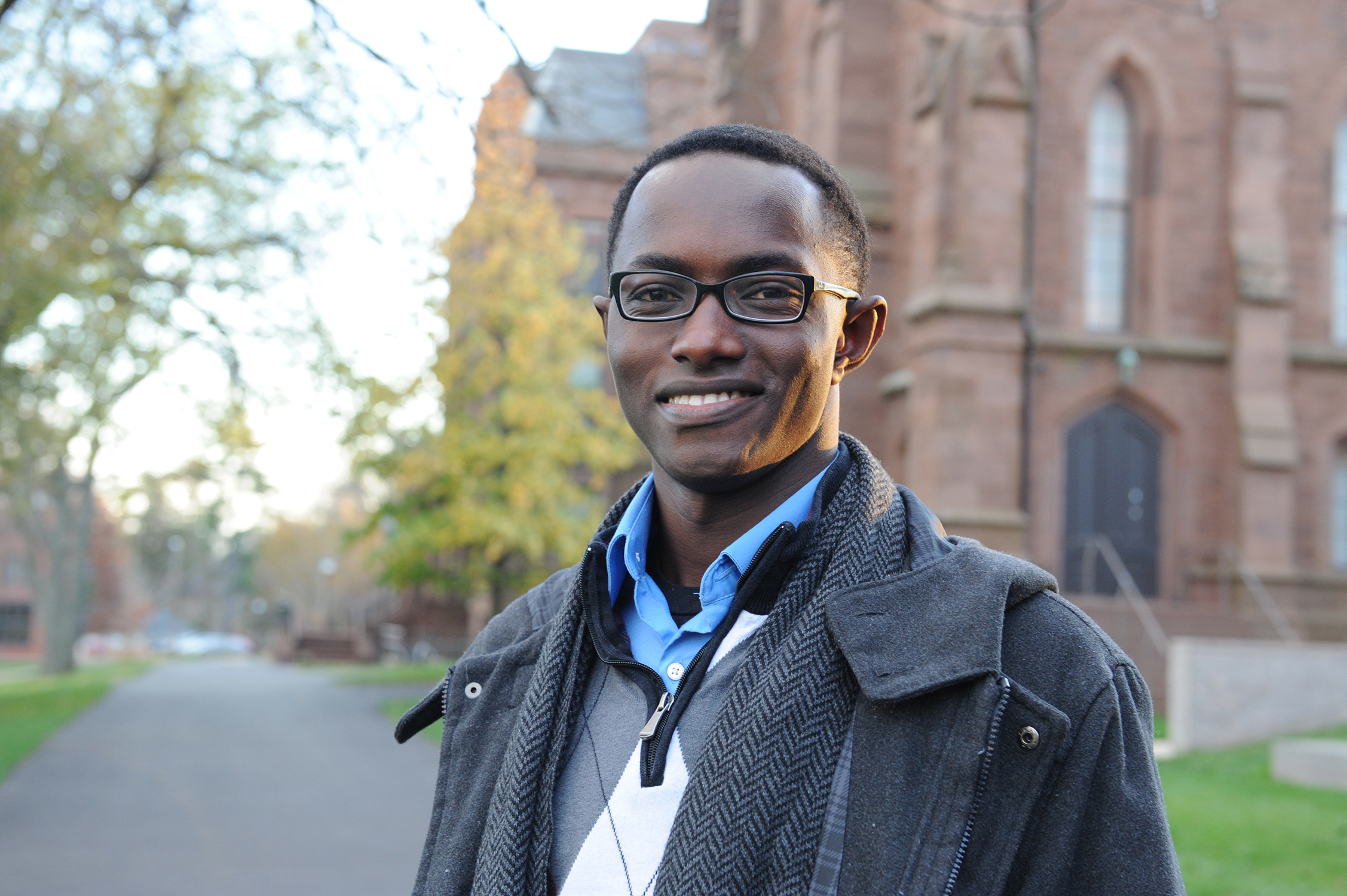 Kwaku Obeng Akoi '14 of Jooma. (Photo by Will Barr '18)