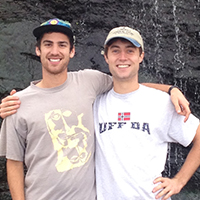 """WHAT'S IN A NAME?""  ALEX KELLEY '13 AND JED RENDLEMAN '12  SAY, A CREATIVELY  EXHAUSTIVE PROCESS"