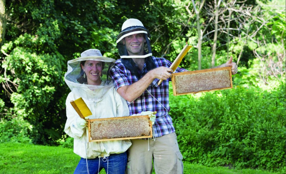 WHAT'S THE BUZZ: 5 QUESTIONS FOR BEEKEEPER STEPHANIE BRUNEAU '00
