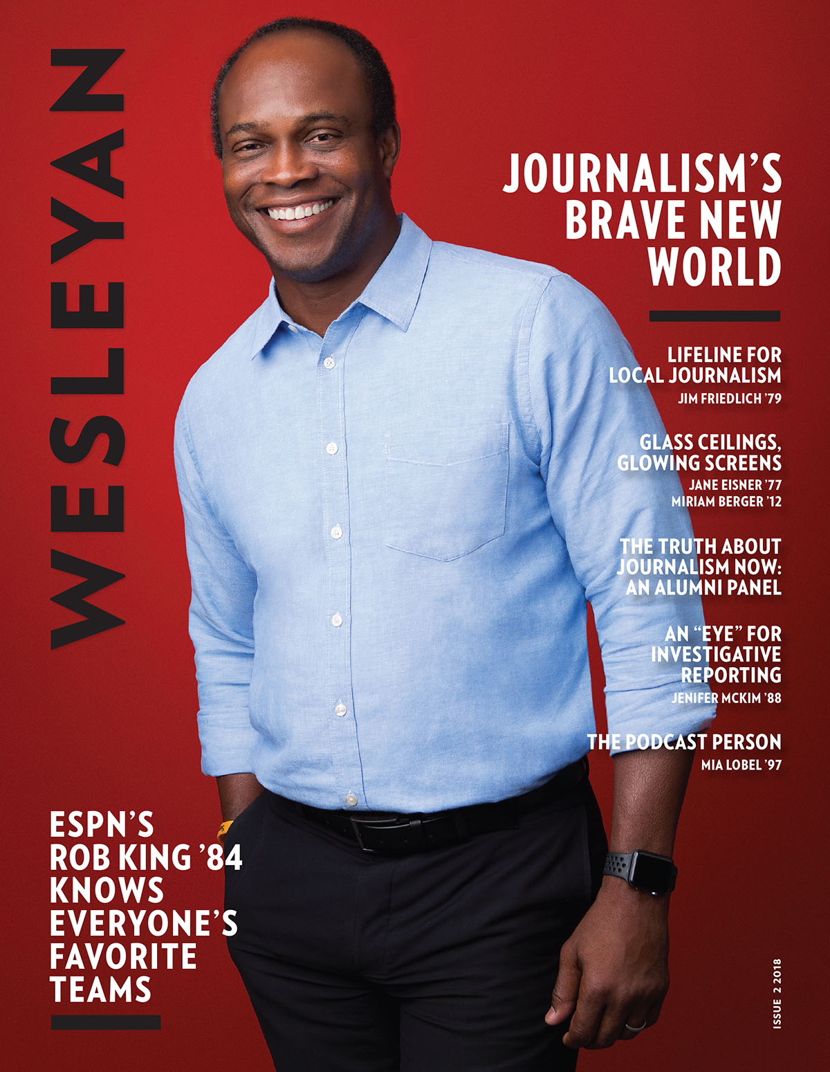 WESLEYAN MAGAZINE, ISSUE 2, 2018