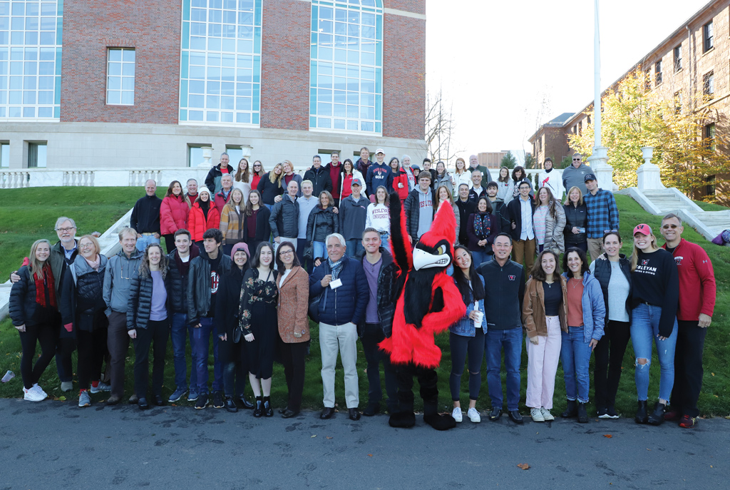 Wesleyan Legacies Gather at Homecoming/Family Weekend 2019