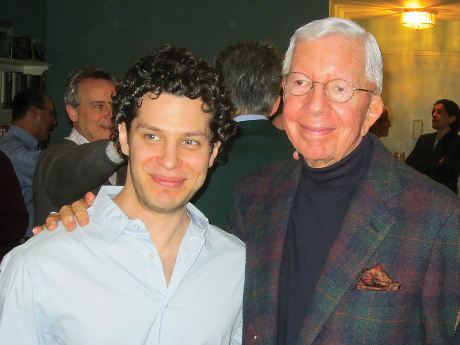 Gilbert Parker and Thomas Kail