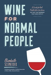 Wine for Normal People cover