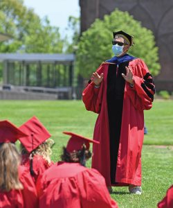 Michael Roth at Commencement