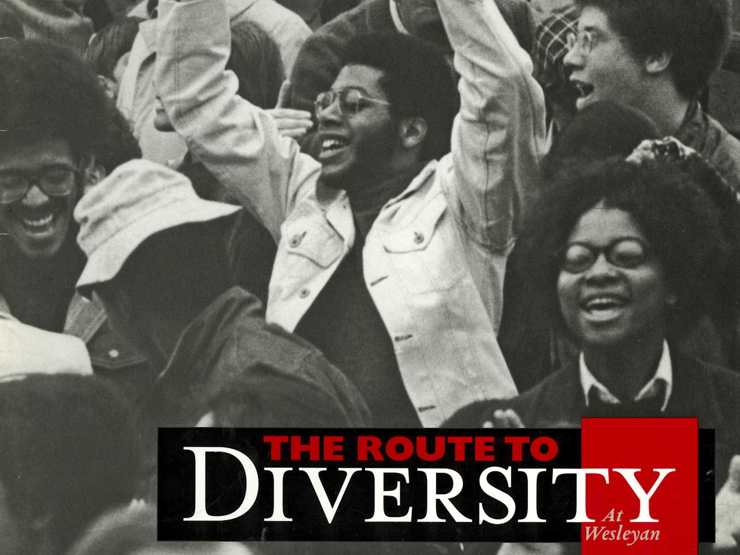 WESLEYAN MAGAZINE SUPPLEMENT: THE ROUTE TO DIVERSITY