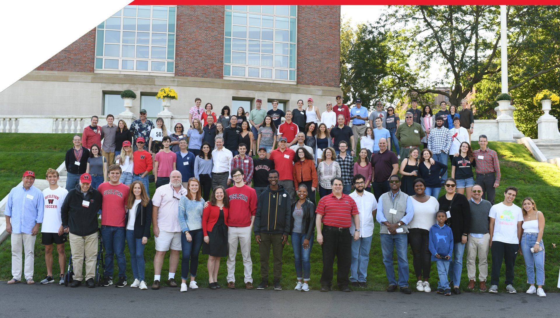 Annual Legacy Photo Highlights Generational Wesleyan Connections