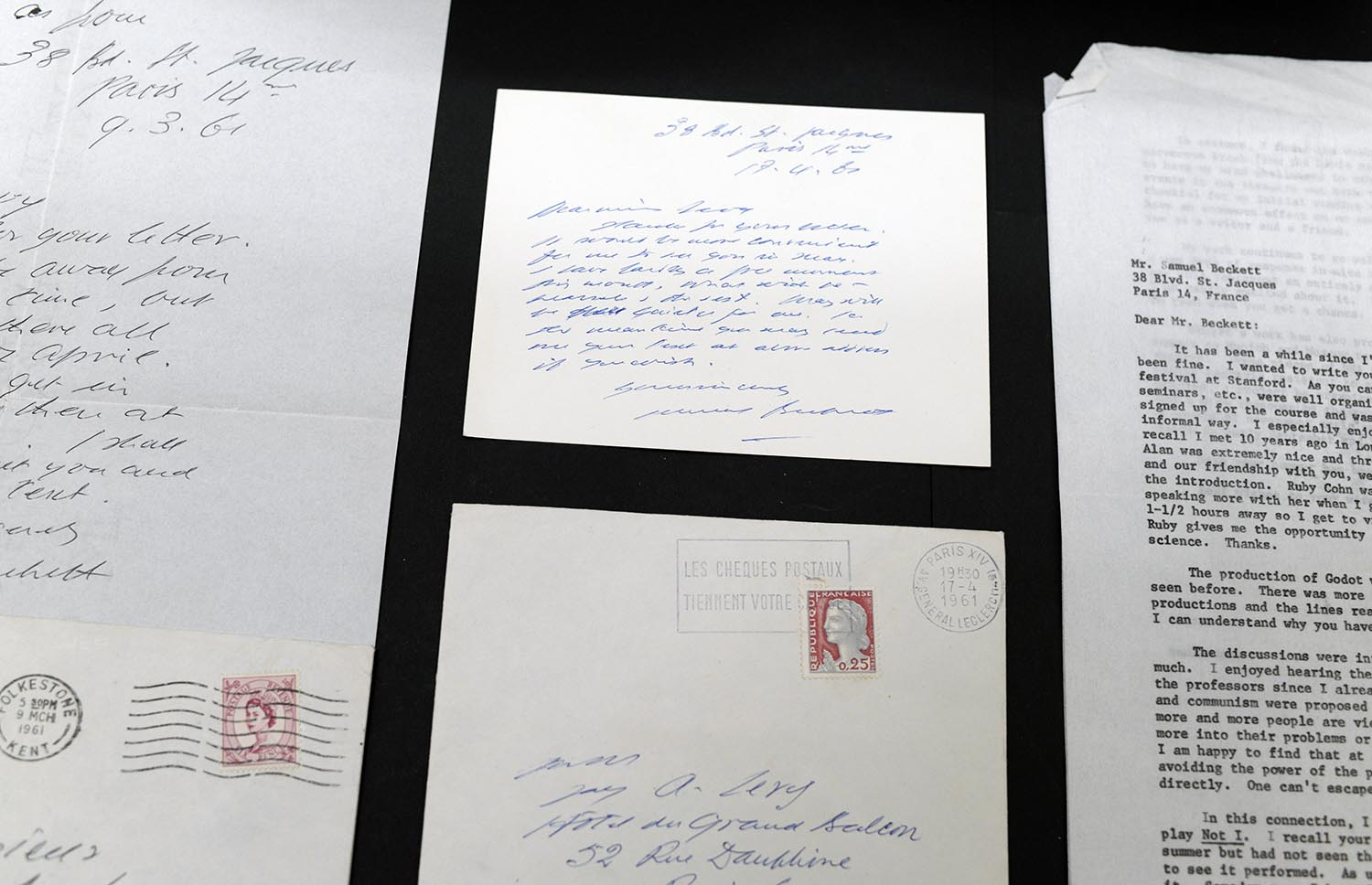 Levy Beckett letters